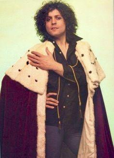 A regal Marc Bolan.
