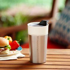 Starbucks® Stainless Steel & Ceramic Tumbler, 12 fl oz. $16.95 at StarbucksStore.com