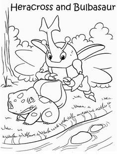 Disegni da colorare per bambini. Colorare e stampa Pokemon 30