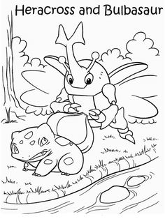 pokemon coloring pages 10
