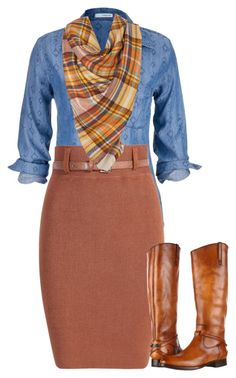 """Apostolic Fashion #68"" by carleemarlee35 ❤ liked on Polyvore featuring maurices and Frye"