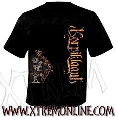 Camiseta de Korpiklaani - Runic.