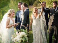 Nicole and Rich's gorgeous fall wedding at Red Cliff Ranch in Midway, Utah was the picture of rustic elegance.