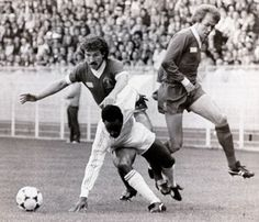 Graeme Souness, Phil Neal and...... Laurie Cunningham 1981 European Cup Final