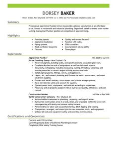 Plumbing Resume Letter Of Intent Agreement  The Letter Of Intent Agreement Is