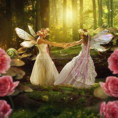 Kindred-Spirits by EnchantedWhispersArt on DeviantArt