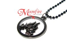 DIVERGENT Dauntless Symbol Necklace