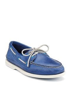 Sperry Top-Sider A/O 2-Eye Burnished Leather Loafers