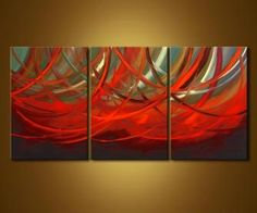 Abstract painting - Love it When You Smile