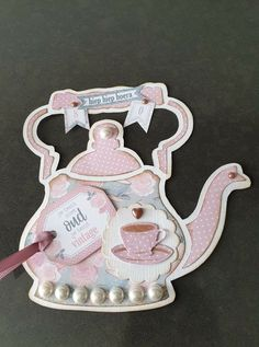 Marianne Design, Tea Party, Scrap, Christmas Ornaments, Holiday Decor, Vintage, Cupcakes, Hipster Stuff, Manualidades