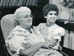 Zilka Sallaberry (Dona Benta) e Rosana Garcia (Narizinho), Sítio do Picapau Amarelo