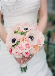 anemone bouquet http://eventsbyclassic.com