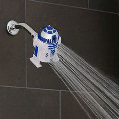 Are you looking for Star Wars Shower Head? We have sorted out the best Star Wars gifts in the universe so that you don't need to go to galaxy far far away. Check our top picks now. Bed Bath & Beyond, Starwars, Plumbing Companies, Hanging Tent, Star Wars Vii, Star Wars Merchandise, Steam Showers Bathroom, Boy Bathroom, Take My Money