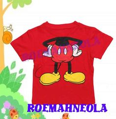 mickey mouse 100% organic co... from RoemahNeola on Wanelo