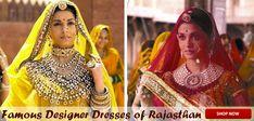 Famous Designer Dresses of Rajasthan