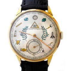 Girard Perregaux Masonic Watches in Mierda de la buena