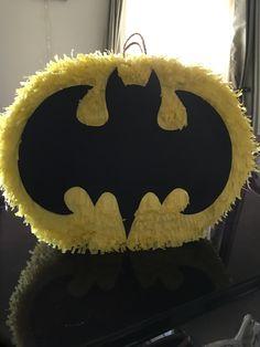 Piñata de Batman por menos de de $10 DIY