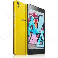 """Lenovo K3 Note Android 5.0 MTK6752 Octa Core 4G Phone w/ 5.5""""FHD, 2GB RAM,16GB ROM,13.0+5.0MP-Yellow From 198,= for Euro 156,60"""