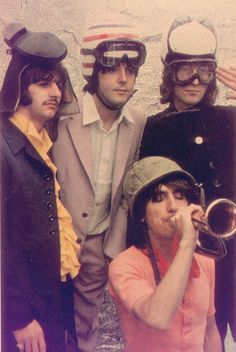 Richard Starkey, Paul McCartney, John Lennon, and George Harrison