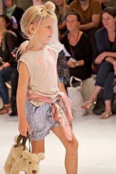 CIFF Kids catwalk show trends for kidswear spring / summer 2014