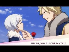 this is all about Sting and Yukino