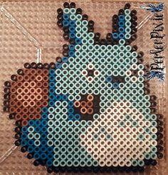 Blue Totoro by PerlerPixie on deviantART