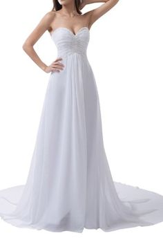 Elegant Strapless Sweetheart Satin Chiffon Wedding Dress(2) Crystal Dresses,http://www.amazon.com/dp/B00FXRDJ12/ref=cm_sw_r_pi_dp_yi.Etb1XCVPEYSWZ