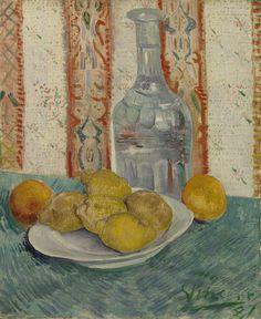 Carafe and Dish with Citrus Fruit, 1887, Vincent van Gogh, Van Gogh Museum, Amsterdam (Vincent van Gogh Foundation)