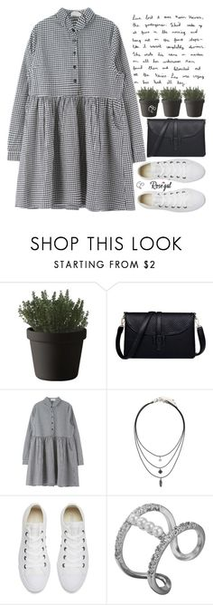 """""""everyday may not be a good day, but there is good in every day"""" by alienbabs ❤ liked on Polyvore featuring Muuto, Converse, clean, organized and rosegal"""