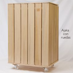 Cestos Ropa - comprar online Black Moon, Table Storage, Cleaning, Texture, Natural, Wood, Interior, House, Ladder