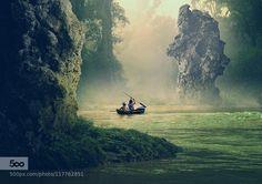 another world - Pinned by Mak Khalaf Fine Art adventureboatboatsforestrivertreetreeswater by ccline
