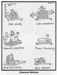 The Far Side by Gary Larson | Classroom Afflictions
