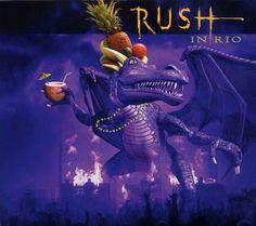 Rush: Rush In Rio - Album Artwork