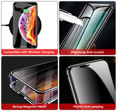 Ultra-Safe Magnetic Phone Case – Pretty Little Sale Apple Logo Design, Toy Storage Bags, Phone Gadgets, Photo Printer, Screen Protector, Protective Cases, Cool Things To Buy, Magnets, Phone Cases