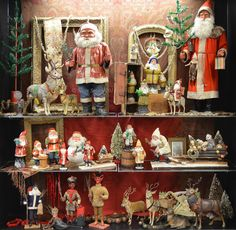 From the collection of Scott Smith on display at the 2013 Golden Glow of Christmas of Past