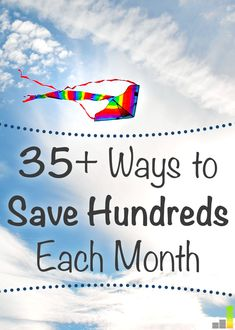 This is the perfect list to reference if you're trying to save money on everyday things! I'm going to use at least 10 of these money saving tips!