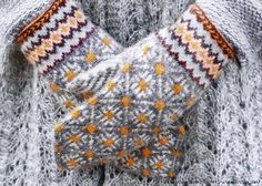 VK is the largest European social network with more than 100 million active users. Fingerless Mittens, Knit Mittens, Knitted Gloves, Knitting Socks, Fair Isle Knitting, Hand Knitting, Wrist Warmers, Hand Warmers, Knitting Charts