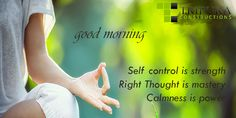 The body is your temple. Keep it pure and clean for the soul to reside in. At Tripura Constructions, experience the good of yoga with peace http://tripuraconstructions.com/ #Tripuraconstructions Good Morning.......