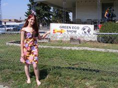 Sara  at Green Eco Repurposed design by Anna Herman
