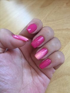 Manicure 26.05.17 Pink for the start of summer.