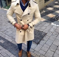 Trench coats are an easy way to incorporate a sense of timeless style to any wardrobe.