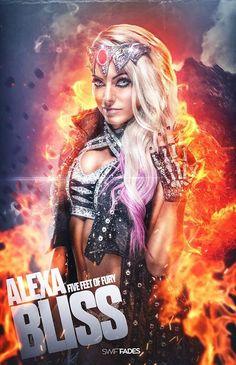 WWE Photo Alexa Bliss Queen