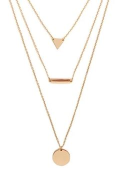 Charm Layered Necklace | Forever 21 #accessorize