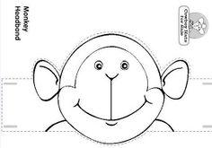 Feestmutsen voor kleuters / Preschool paper hats 4th Grade Crafts, Five Little Monkeys, Work With Animals, Animal Hats, 3d Cards, Stuffed Animal Patterns, Colorful Drawings, Kids Hats, Clipart