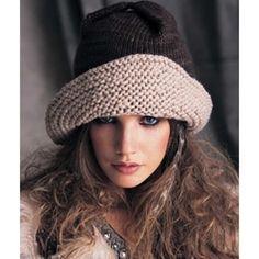 Vouge Knitting Wide brimmed Hat, pattern $5.00 @Velma Vaughan