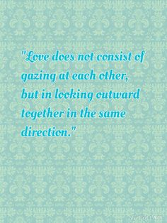 This is a quote for Hamlet and Ophelia. The failure of their love is because they can not be determined to be together and be influenced by others. If they look at the same direction and always believe in their love, they will finally be together.