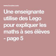 Une enseignante utilise des Lego pour expliquer les maths à ses élèves - page 5