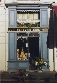 French shop front - Shopping in France again <3