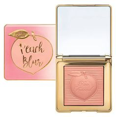 Hello cuties! Too Faced Peaches and Cream Fall 2017 Collection is as cute as can be. All the products are infused with the sweetness of the peach scent and come in the super adorable peach-themed packaging. Some of the products