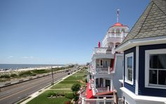 Beach Avenue in Cape May New Jersey